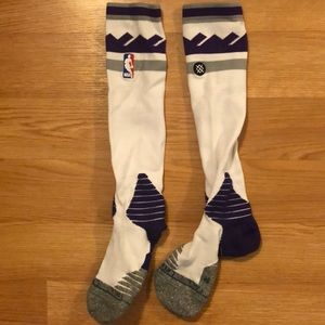 Sacrament Kings stance socks